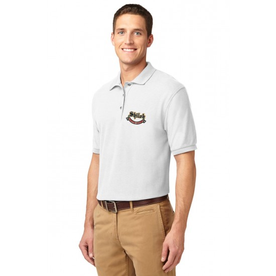 Adult SilkTouch Blend Pique Uniform Polo Shirt
