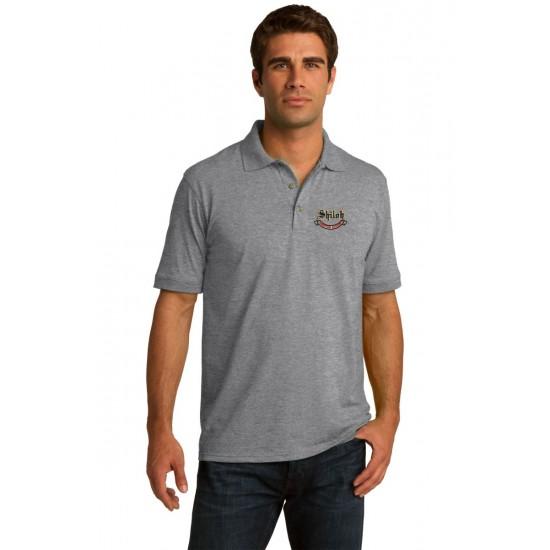 Adult Jersey Knit Uniform Polo Shirt