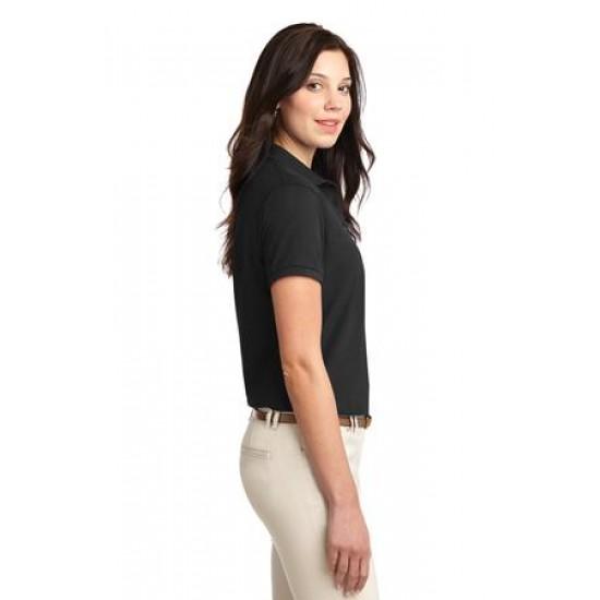 Ladies Silk Touch Blend Pique Uniform Polo Shirt