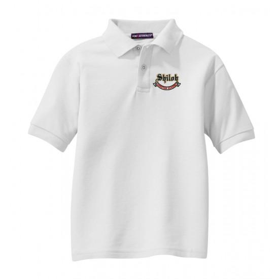 Youth Silk Touch Blend Pique Uniform Polo Shirt